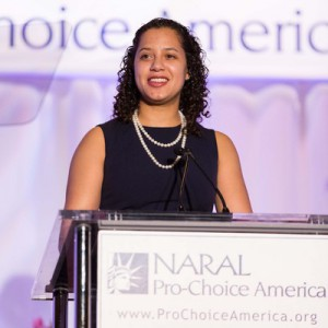 Renee Bracey Sherman at the 20th Annual NARAL Pro-Choice America Power of Choice Luncheon in San Francisco, 2014