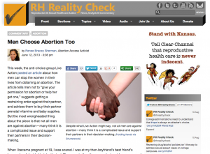 RH Reality Check - Men Choose Abortion Too