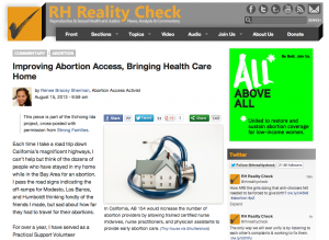 Improving Abortion Access, Bringing Health Care Home