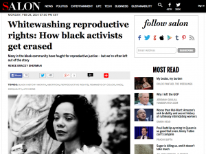 Salon - Whitewashing