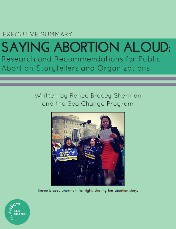 Saying Abortion Aloud Cover